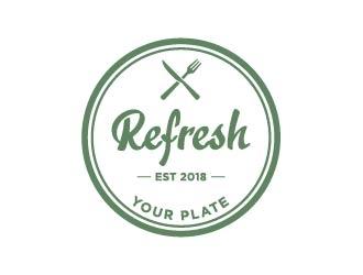 Refresh Your Plate logo design.
