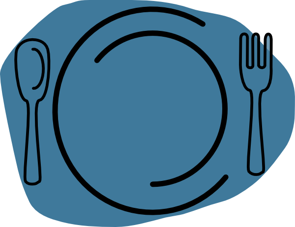 Plate lunch clipart.