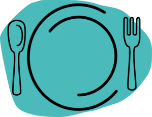 Turquoise Plate Clip Art at Clker.com.