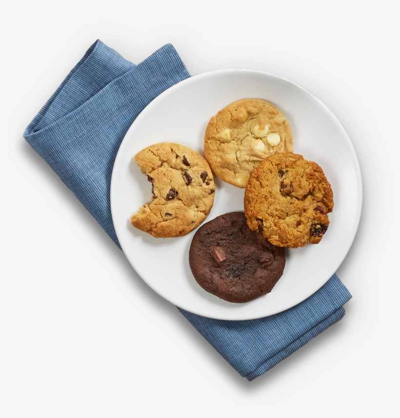 Plate Of Cookies Png.