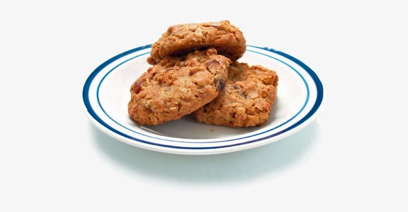 Plate Of Cookies.