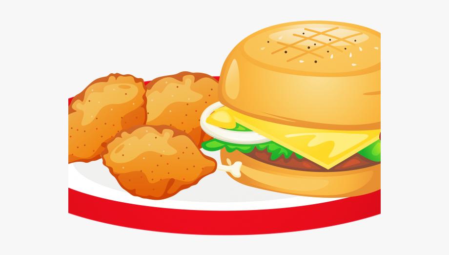 Burger Clipart Fast Food.