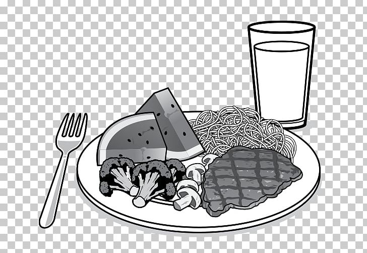 Food Cutlery PNG, Clipart, Black And White, Cartoon, Cutlery.