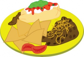 Healthy Plate Of Food Clipart Free Clipart Image 2.