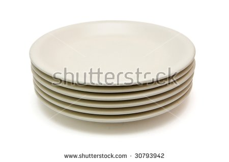 Pile Of Plates Stock Photos, Royalty.