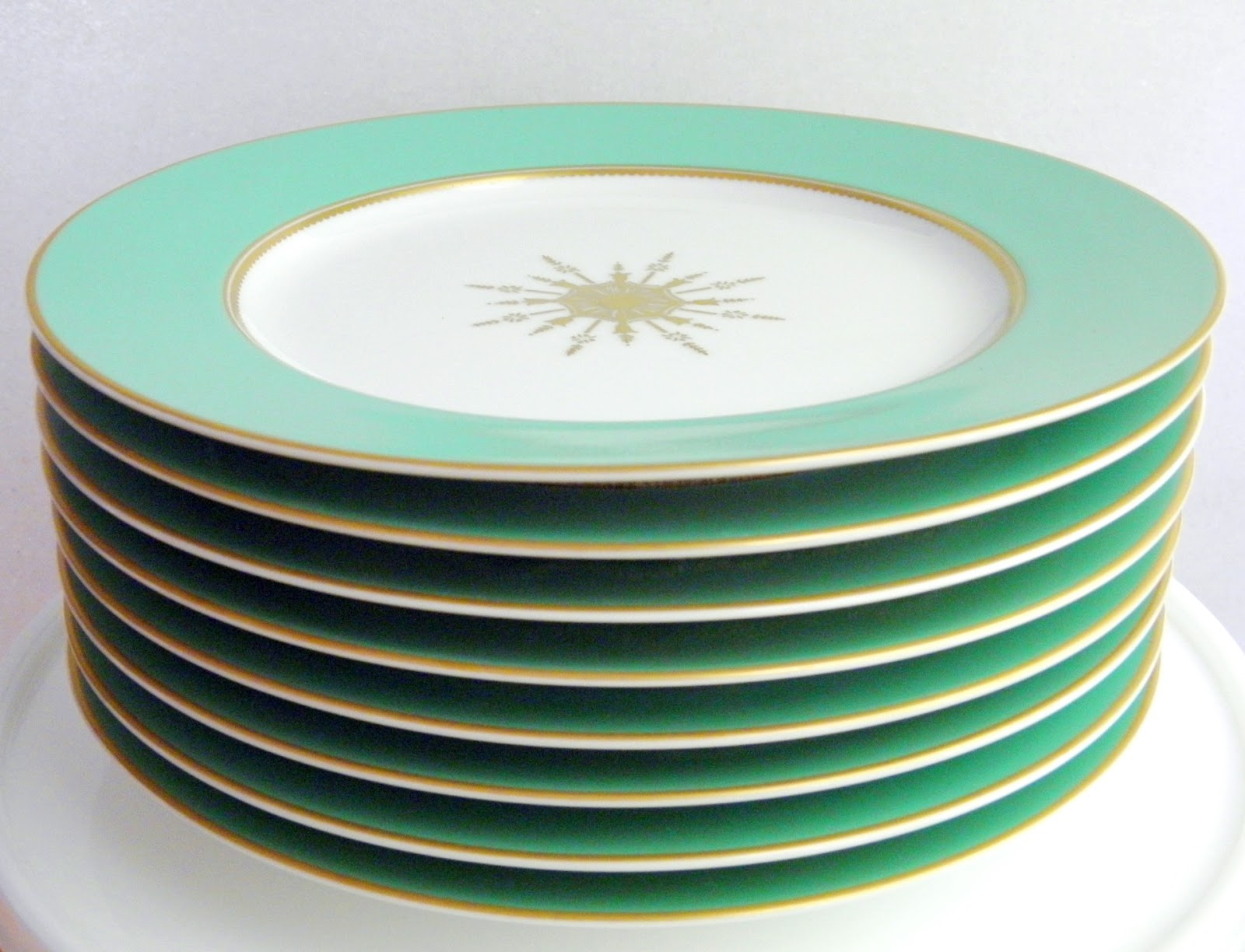 Good Things by David: Martha by Mail ~ Antique Star Dessert Plates.