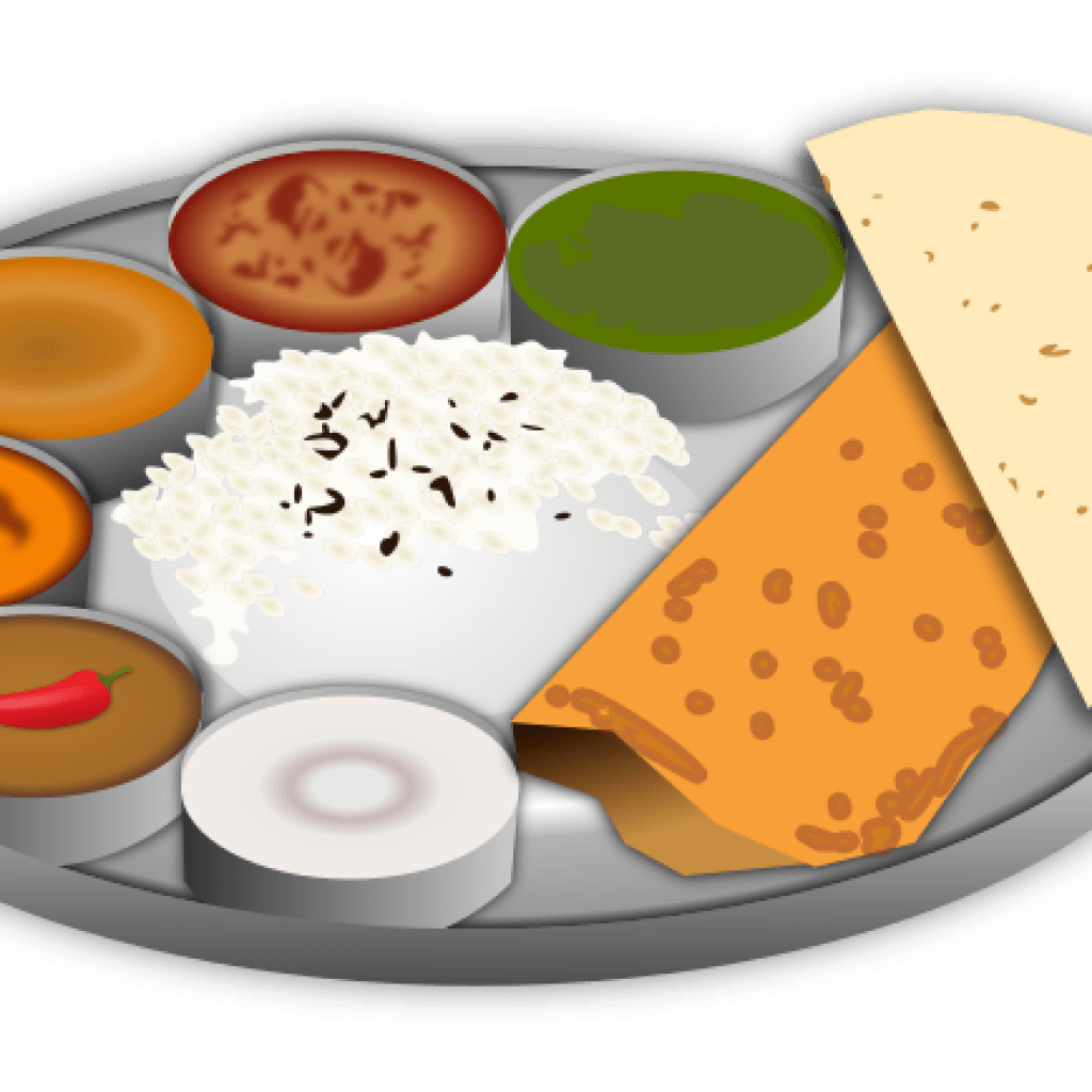 Plate with food clipart 1 » Clipart Portal.