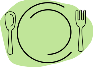 Plate Of Food Picture.