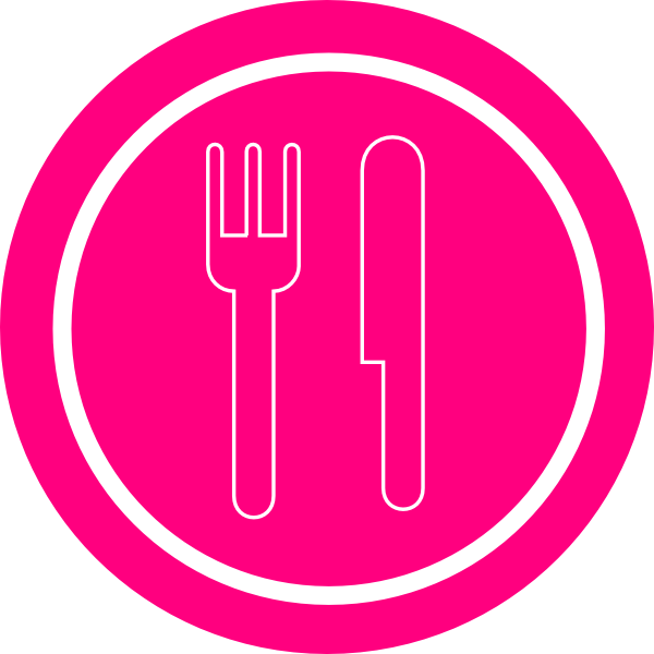 Plate Fork And Knife Clipart.