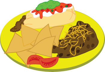 Clipart Food Plate.