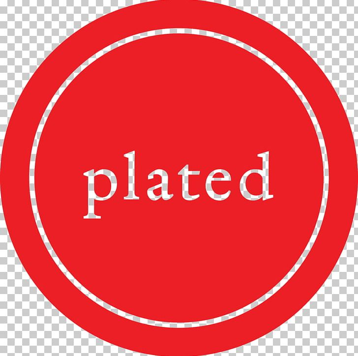 Plated Meal Delivery Service Logo Business Meal Kit PNG.