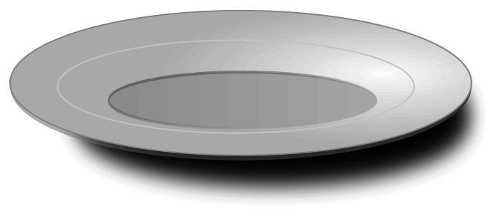 Plates Clip Art Download.