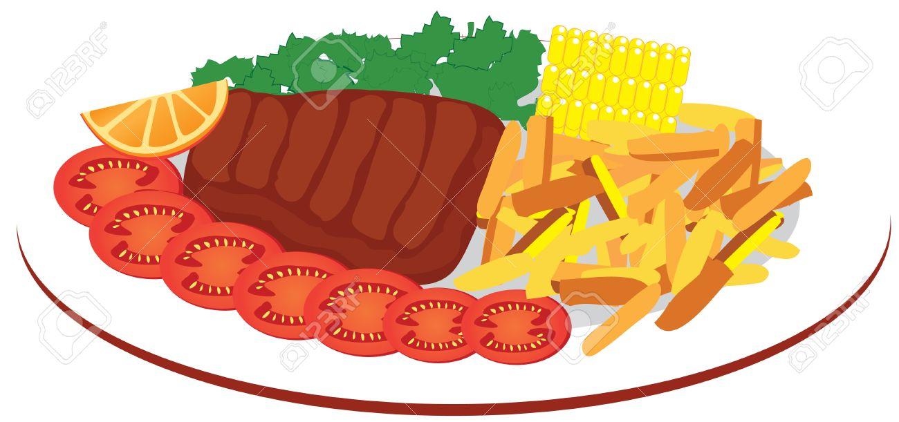 Food Plate Drawing at GetDrawings.com.