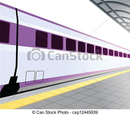 Train platform clipart.