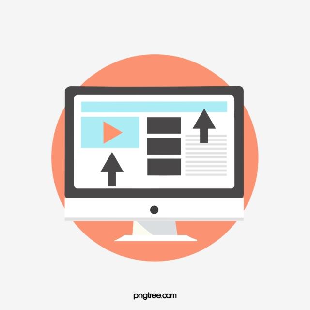 Online Education Learning Platform Theme Illustration, Learn.