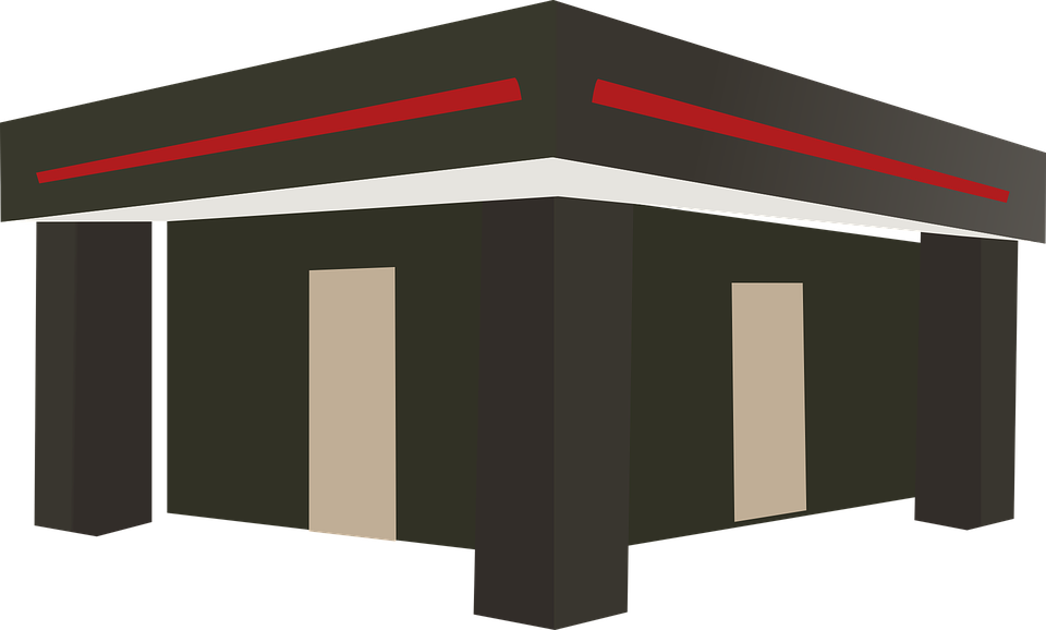 Free vector graphic: Flat Roof, Terrace, Platform Roof.