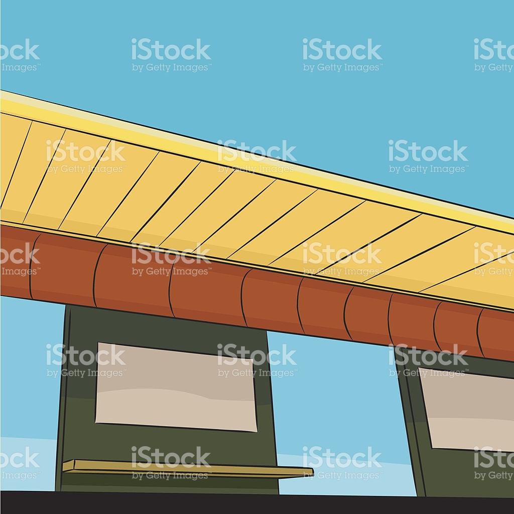 Public Transit Station Platform stock vector art 164480059.