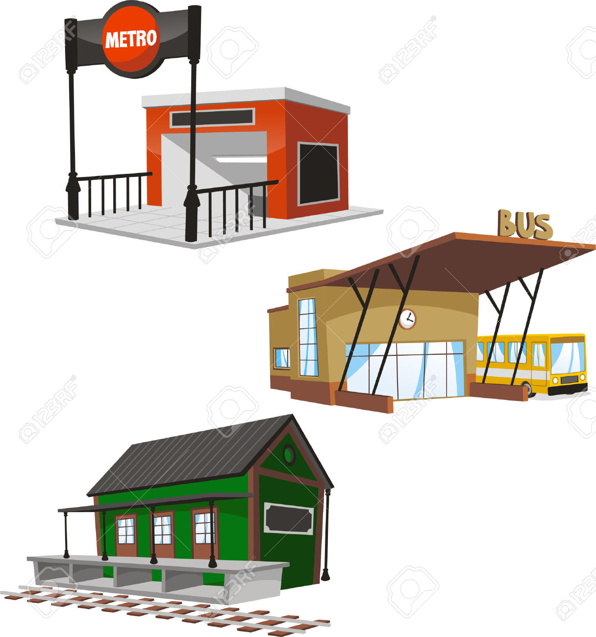 4,263 Train Platform Stock Vector Illustration And Royalty Free.