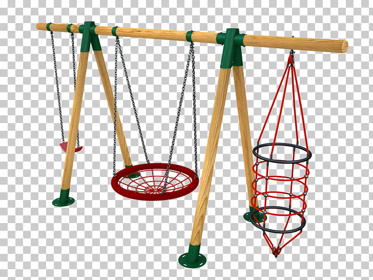 Swing Playground slide Park Game, children\'s playground PNG.