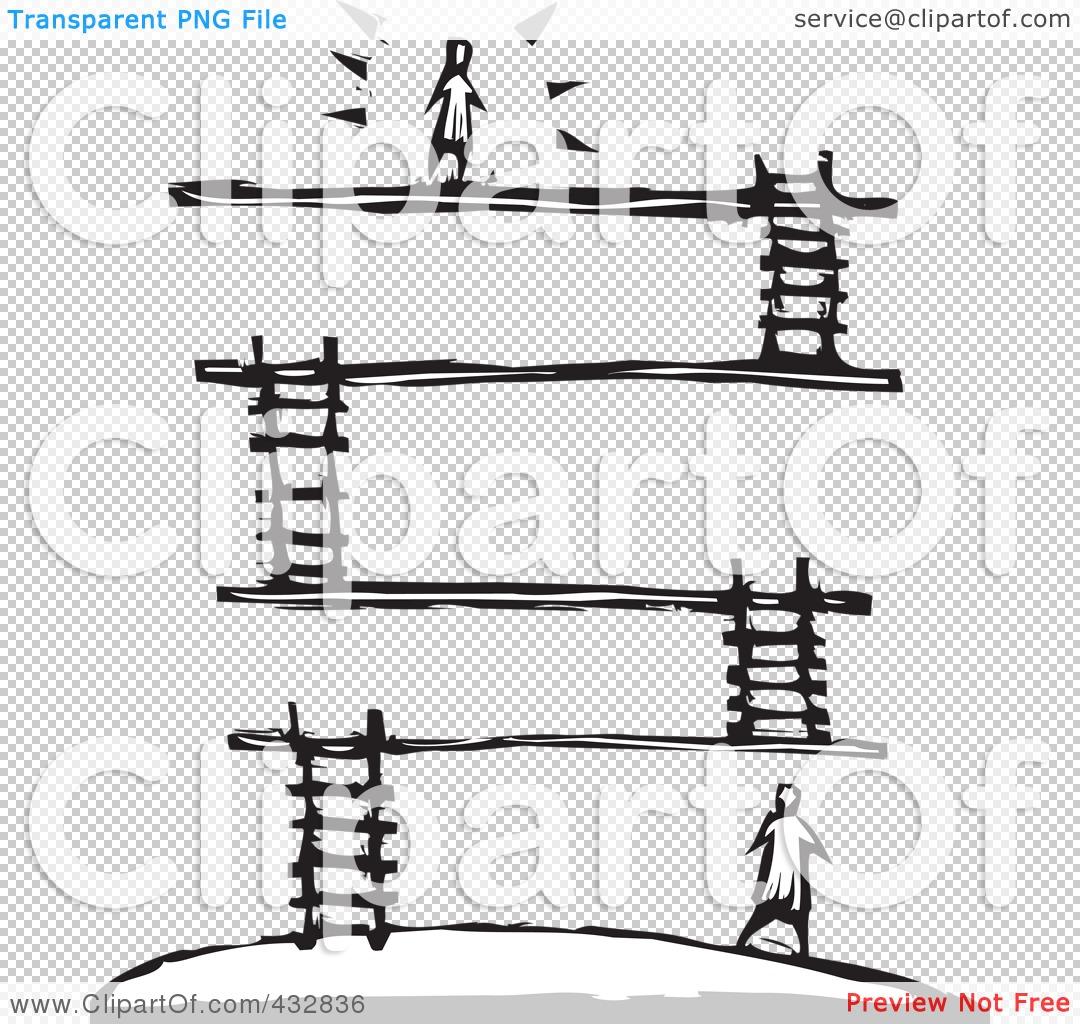 Platform Clip Art.