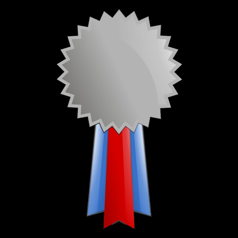 Platinum medal clipart.