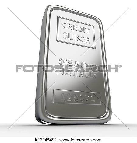Stock Illustration of Platinum bar k8235818.