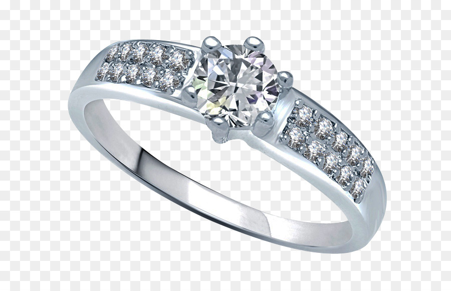 Wedding Ring Silver png download.