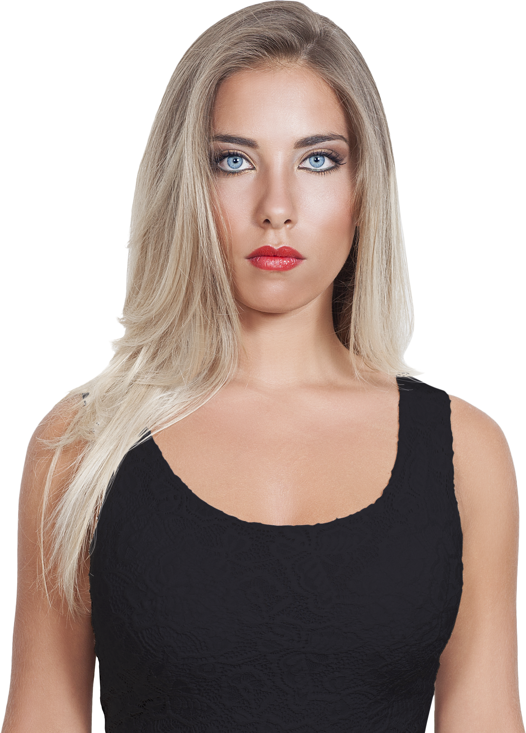 Blonde Girl Png (+).