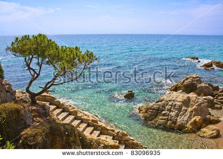 Platja D'Aro Beach, A Well Known Tourist Destination (Costa Brava.