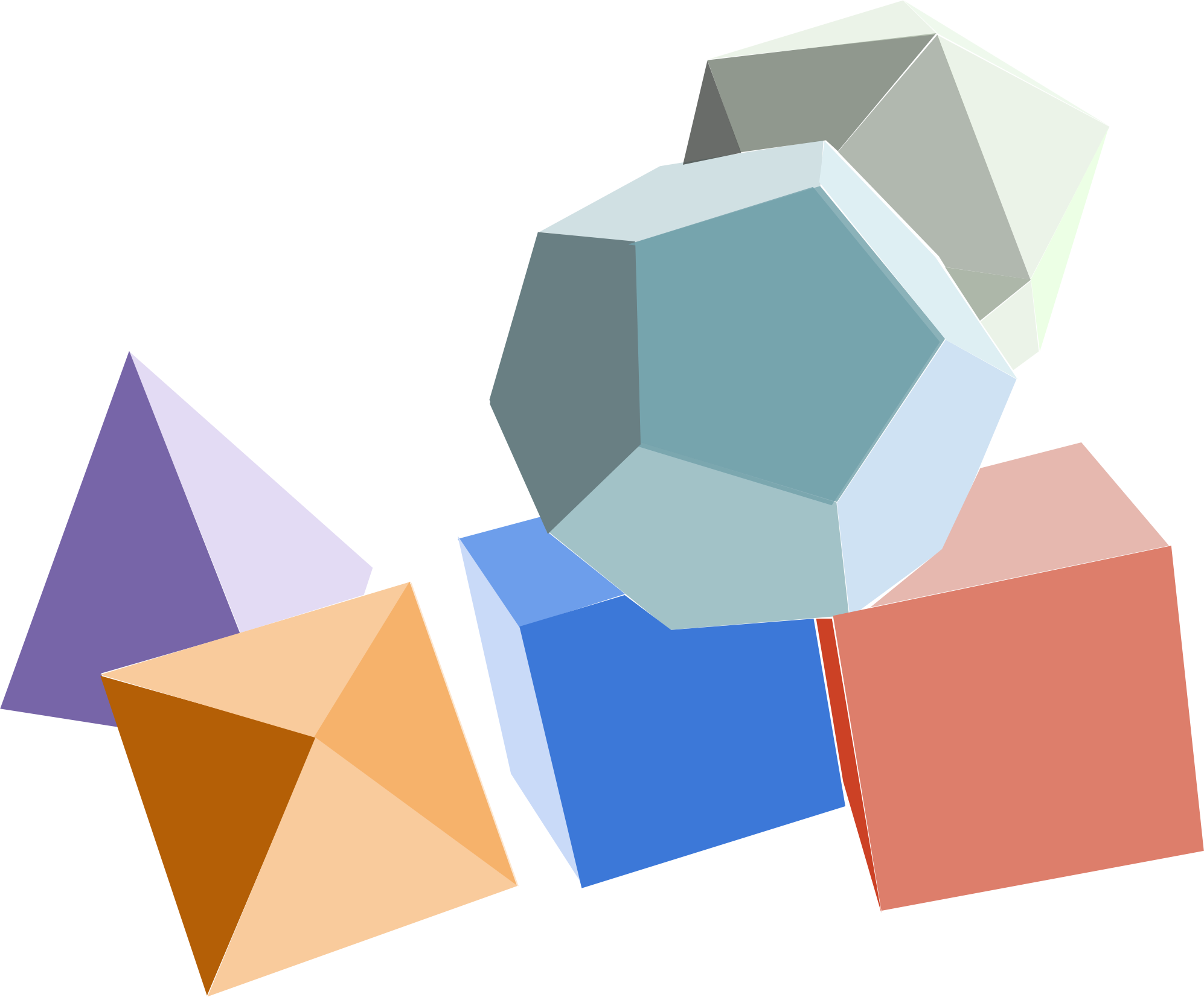 Platonic Solids Clipart Clipground