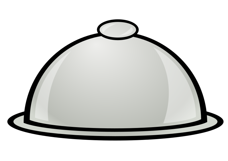 Food Platter Clipart.