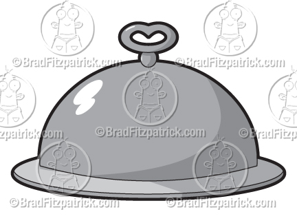 Need a Cartoon Platter? See My Cartoon Covered Silver Platter.