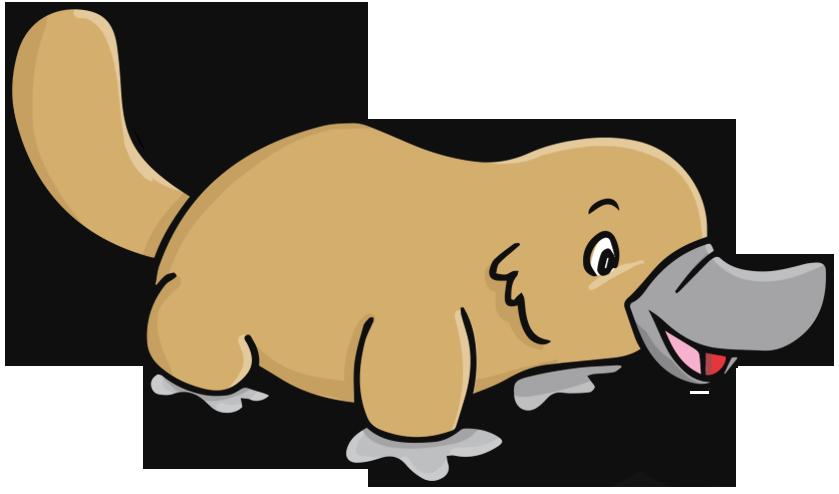 Platypus Clipart Free.