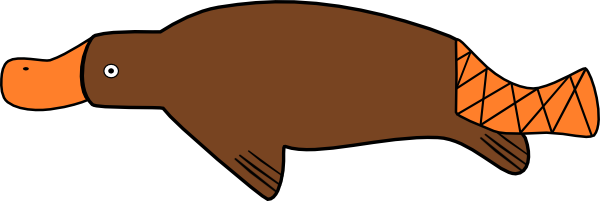 Best Platypus Clipart #10022.