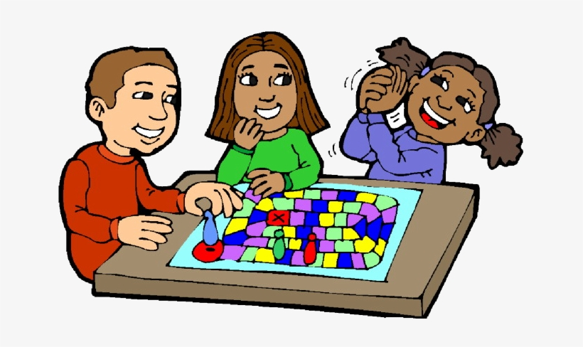 Kids Board Gameclip Art Play Board Games Clipart Png.