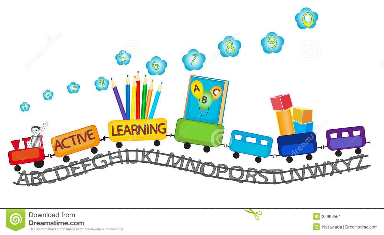Play Center Preschool Clipart.