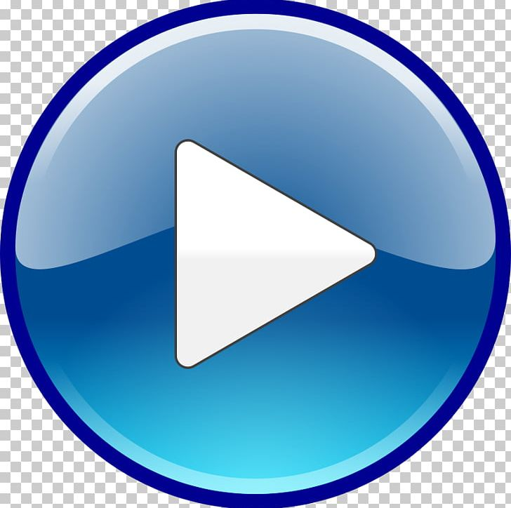 YouTube Play Button Computer Icons PNG, Clipart, Angle, Blue.