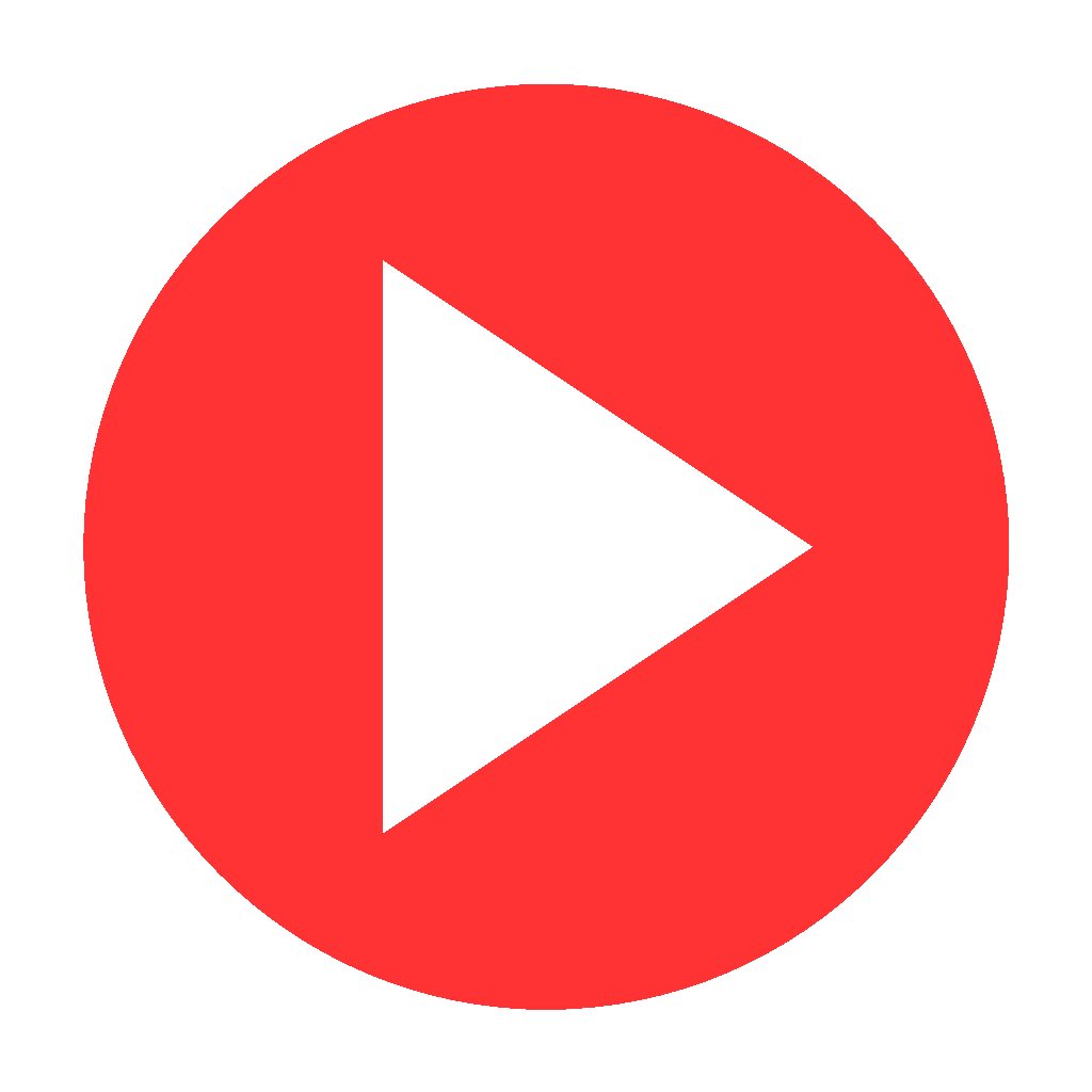 Play Red Button transparent PNG.