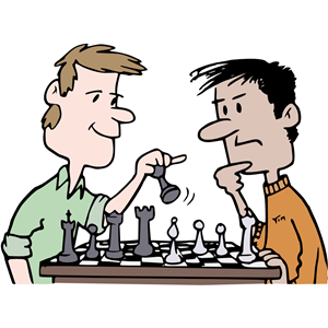Chess clipart chess player, Chess chess player Transparent.