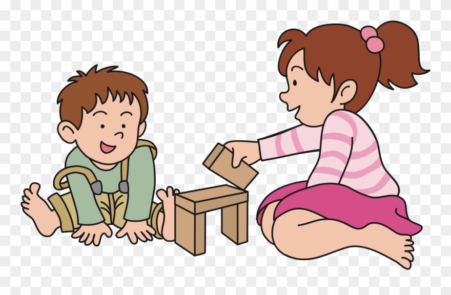 Baby Playing Clipart Children Playing Png.