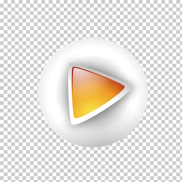 Button Google Play Computer file, Cartoon play button PNG.