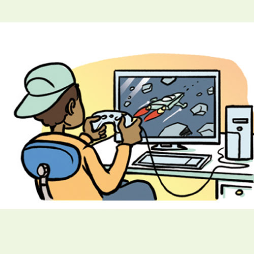 Play computer games clipart 11 » Clipart Station.