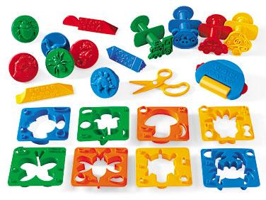 Playdough tools clipart.