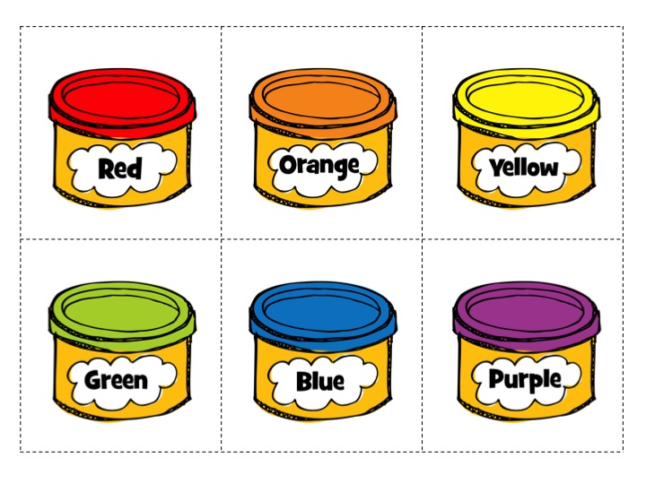 Play doh clipart free.