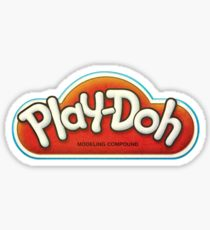 Playdough Stickers.