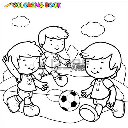 Playing football clipart black and white 2 » Clipart Station.