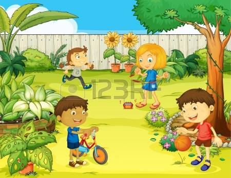 4,090 Play Garden Stock Vector Illustration And Royalty Free Play.