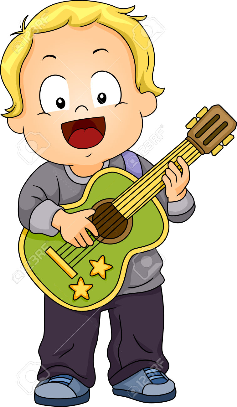 Playing The Guitar Clipart Clipground