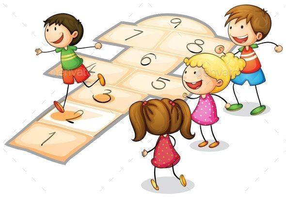 Kids Playing.