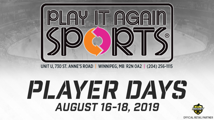 Play It Again Sports presents Player Days!.